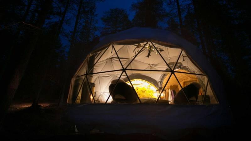 Aurora dome –Torassieppi
